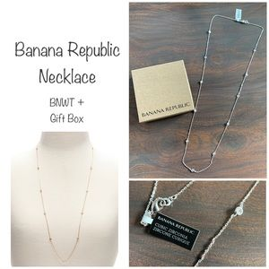 Banana Republic Long Necklace
